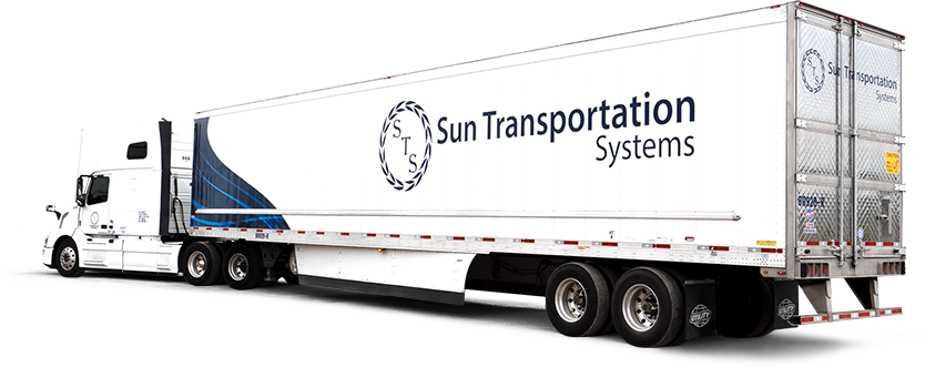 STS transport truck and trailer